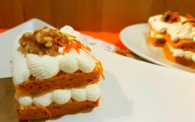 Pastel de Zanahoria al microondas en 5 minutos [Receta Fitness]