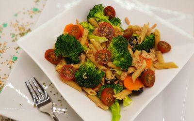 Brócoli con macarrones integrales [Receta para principiantes]