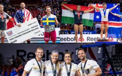 Resumen y clasificación Reebok CrossFit Games 2018