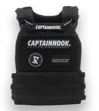 CaptainHook W-8 Tactical Vest entrenamiento funcional