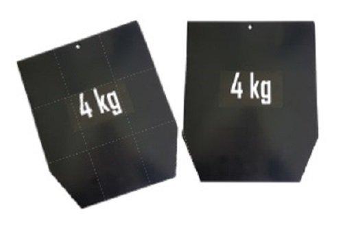 Placas Sveltus Chaleco para CrossFit